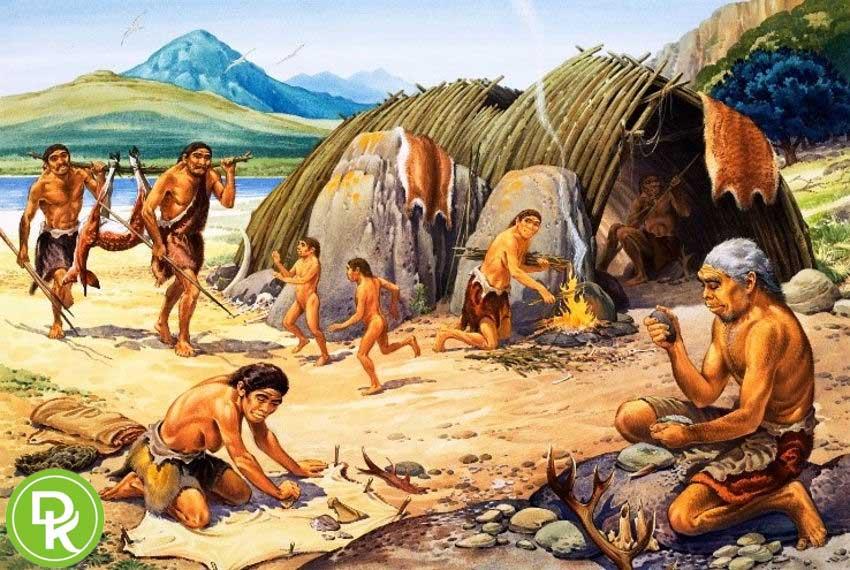 لباس زیر مردانه ما قبل تاریخ